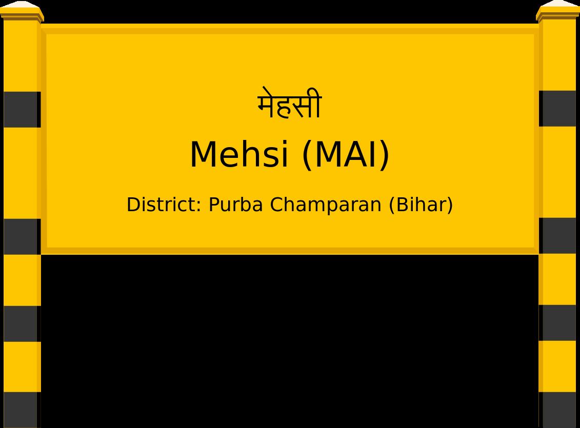 Mehsi (MAI) Railway Station