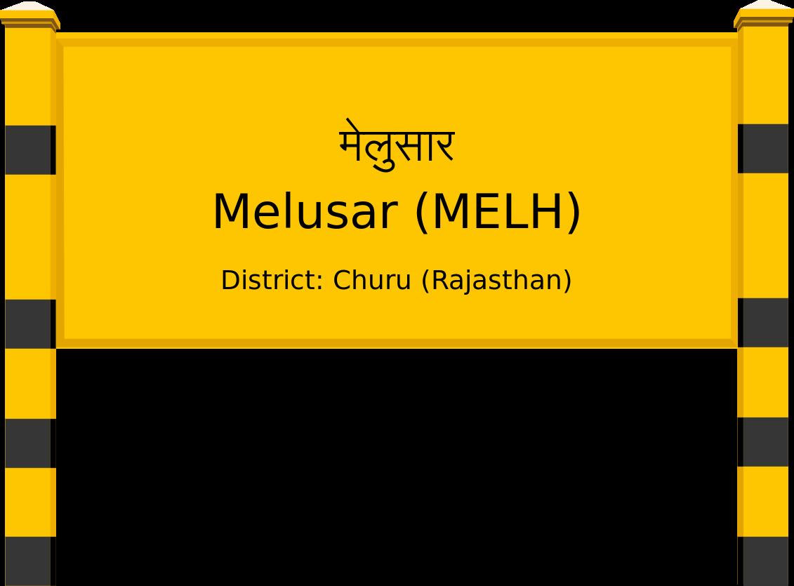 Melusar (MELH) Railway Station