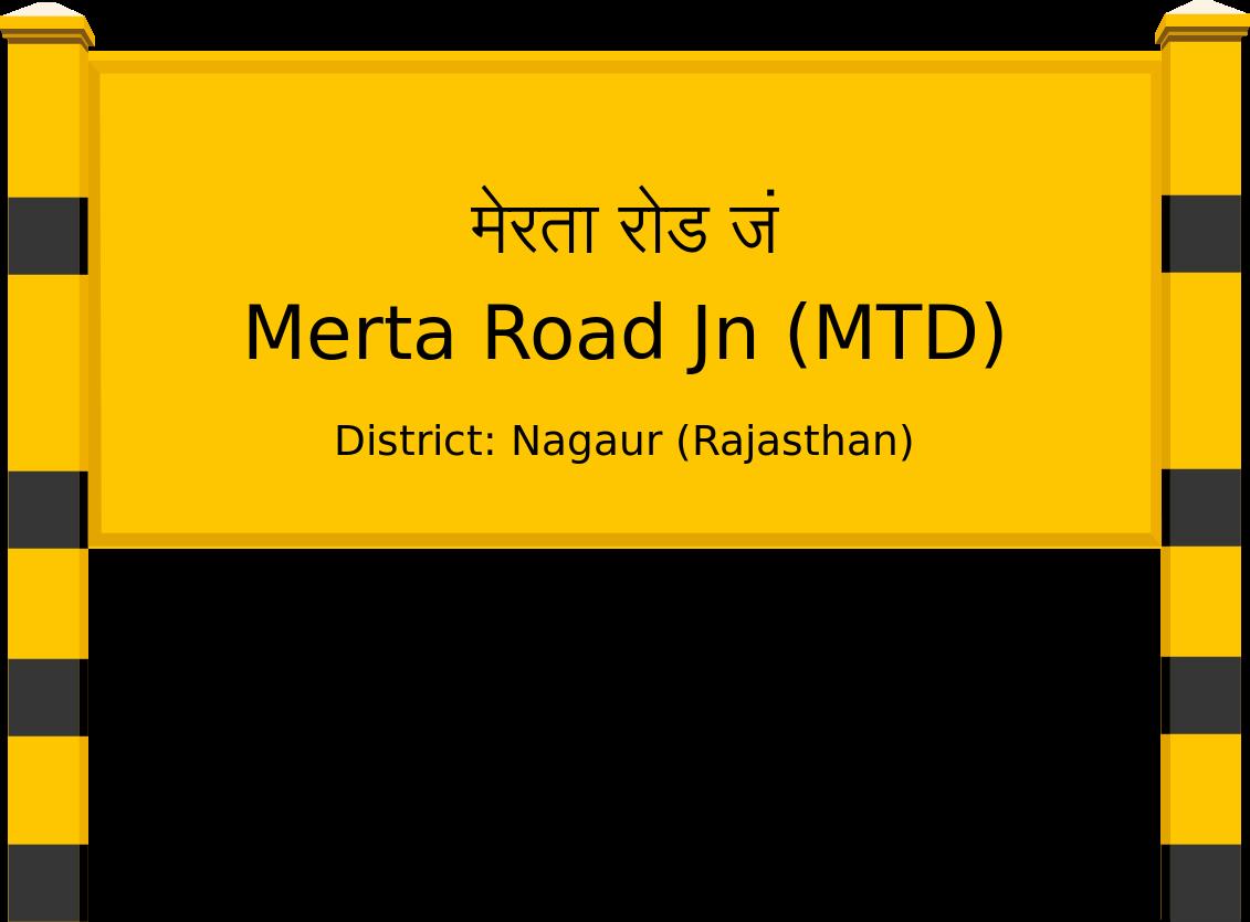 Merta Road Jn (MTD) Railway Station