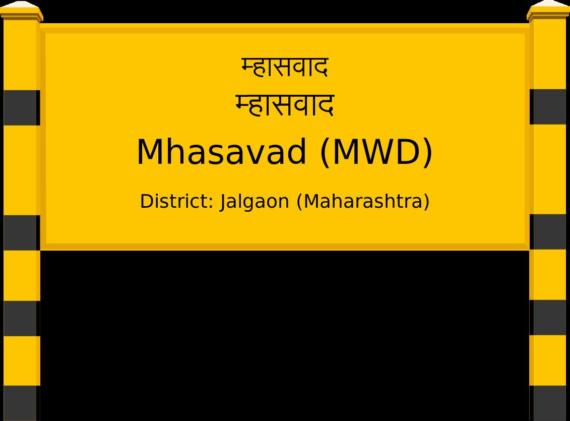 Mhasavad (MWD) Railway Station
