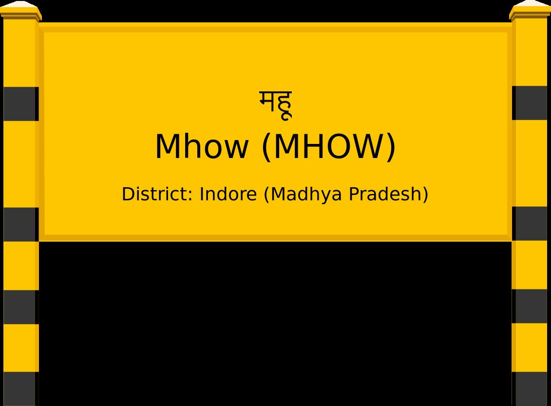 Mhow (MHOW) Railway Station