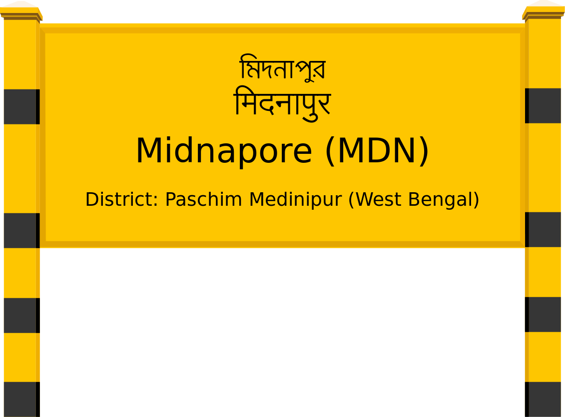 Midnapore (MDN) Railway Station