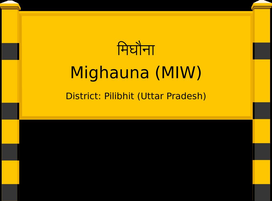 Mighauna (MIW) Railway Station