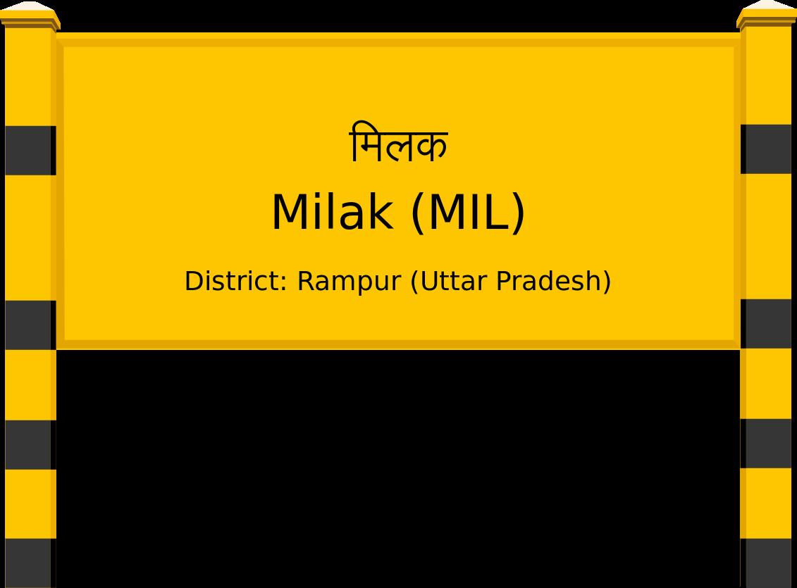 Milak (MIL) Railway Station