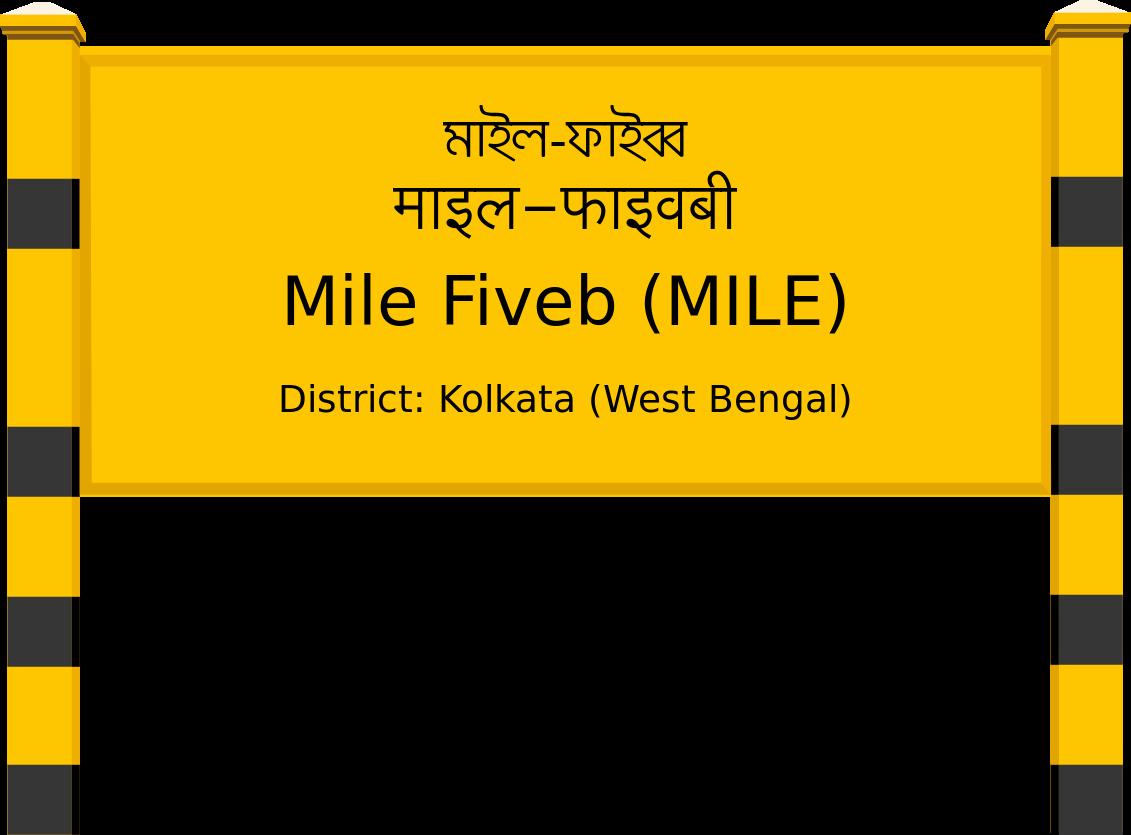 Mile Fiveb (MILE) Railway Station