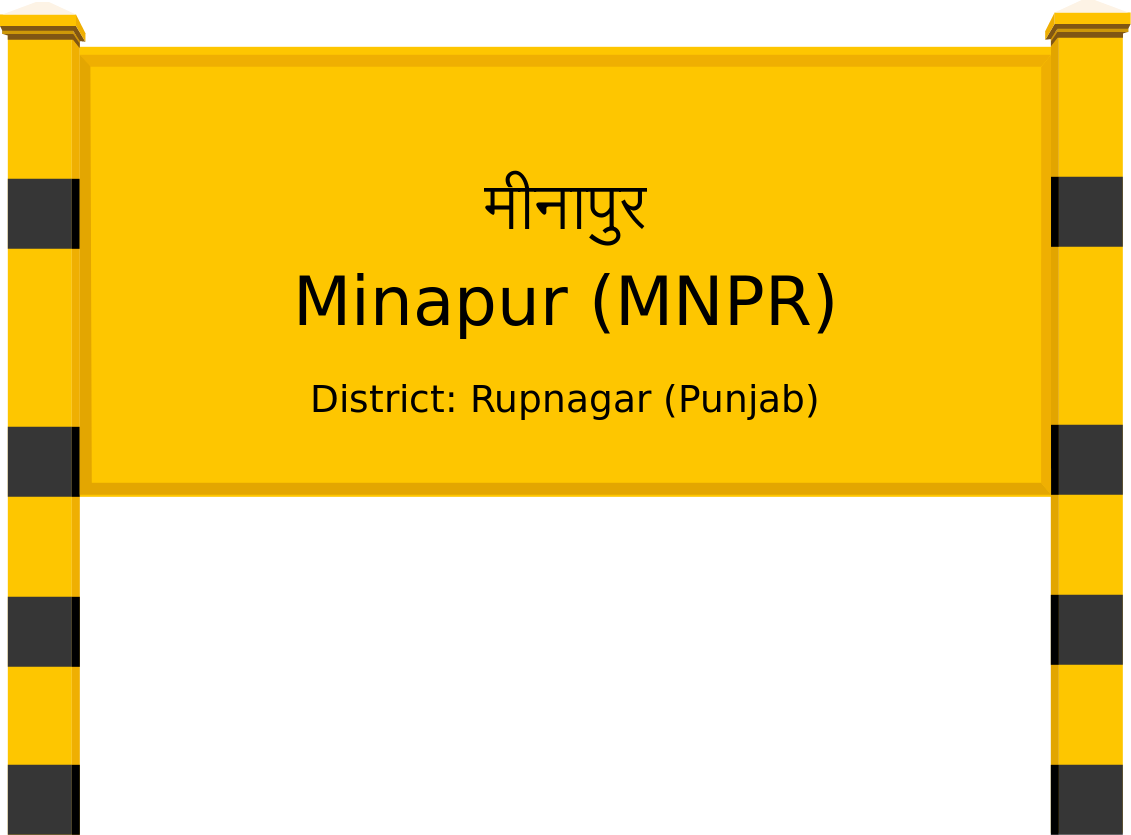 Minapur (MNPR) Railway Station