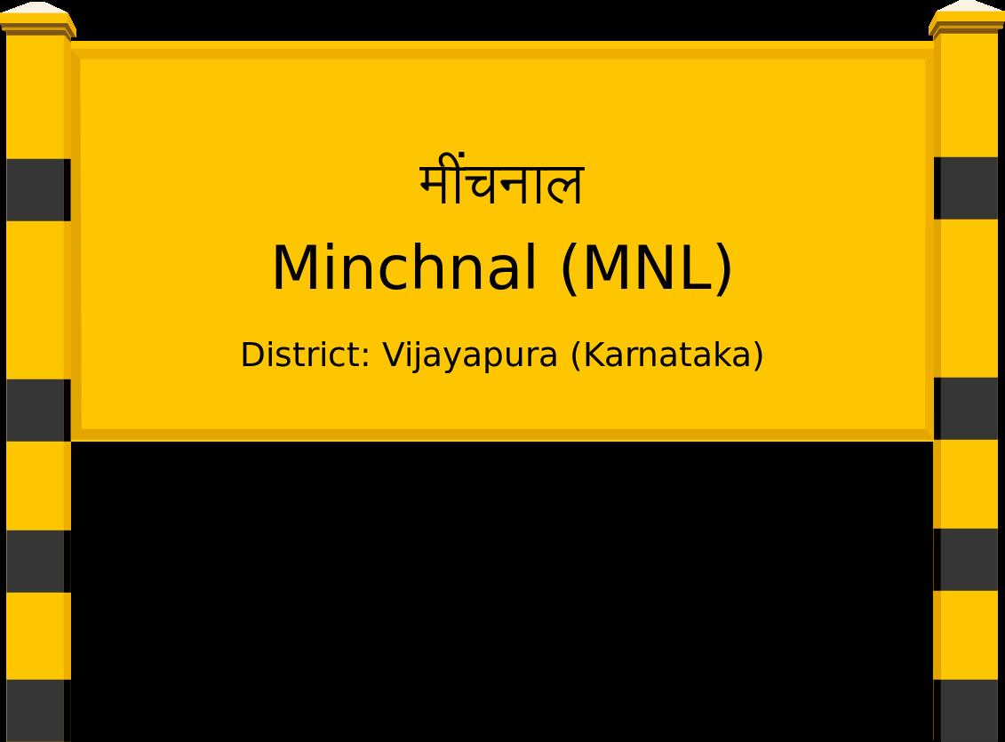 Minchnal (MNL) Railway Station