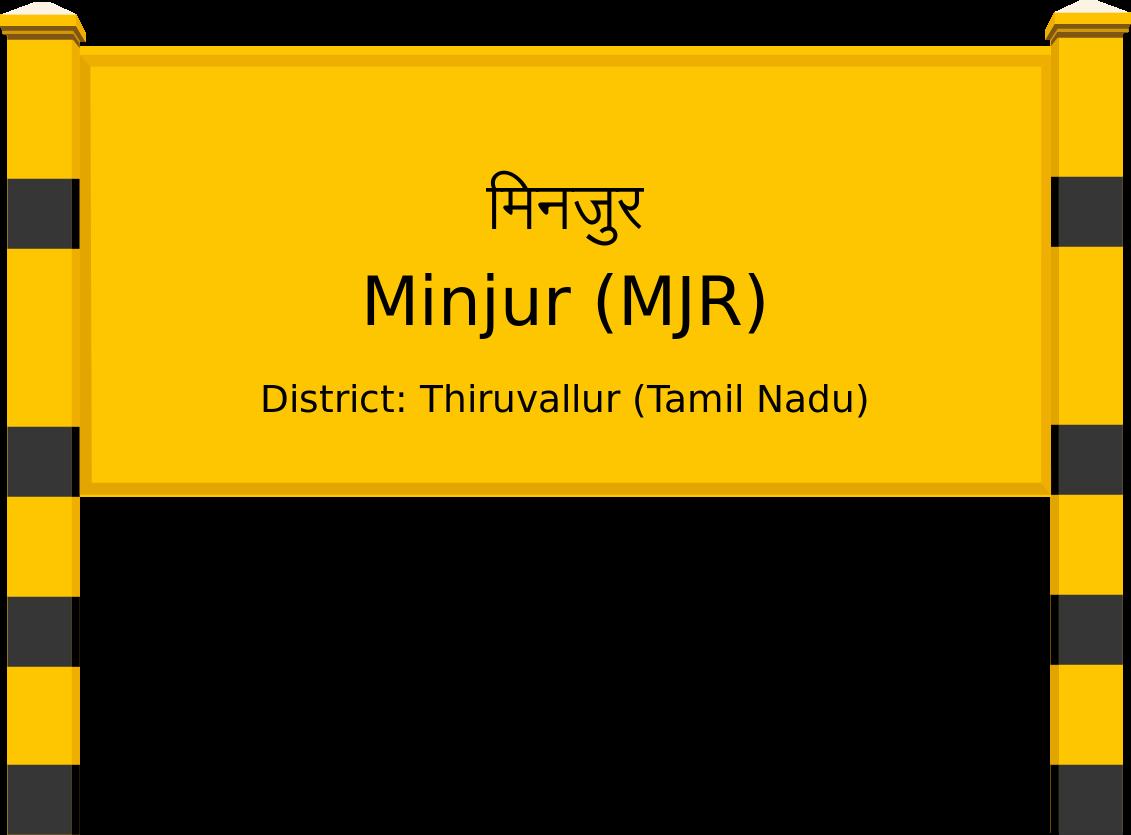 Minjur (MJR) Railway Station