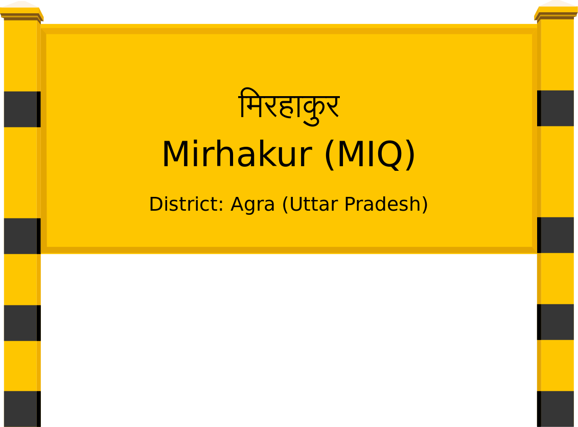 Mirhakur (MIQ) Railway Station