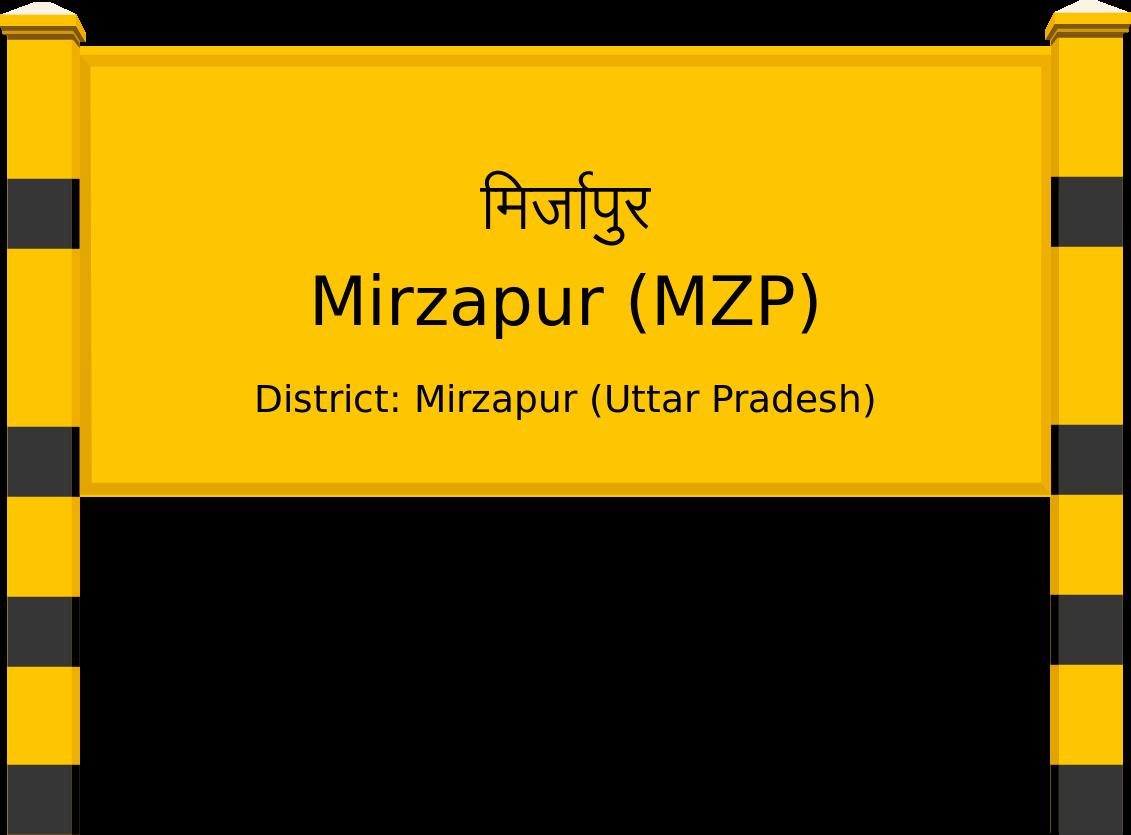 Mirzapur (MZP) Railway Station