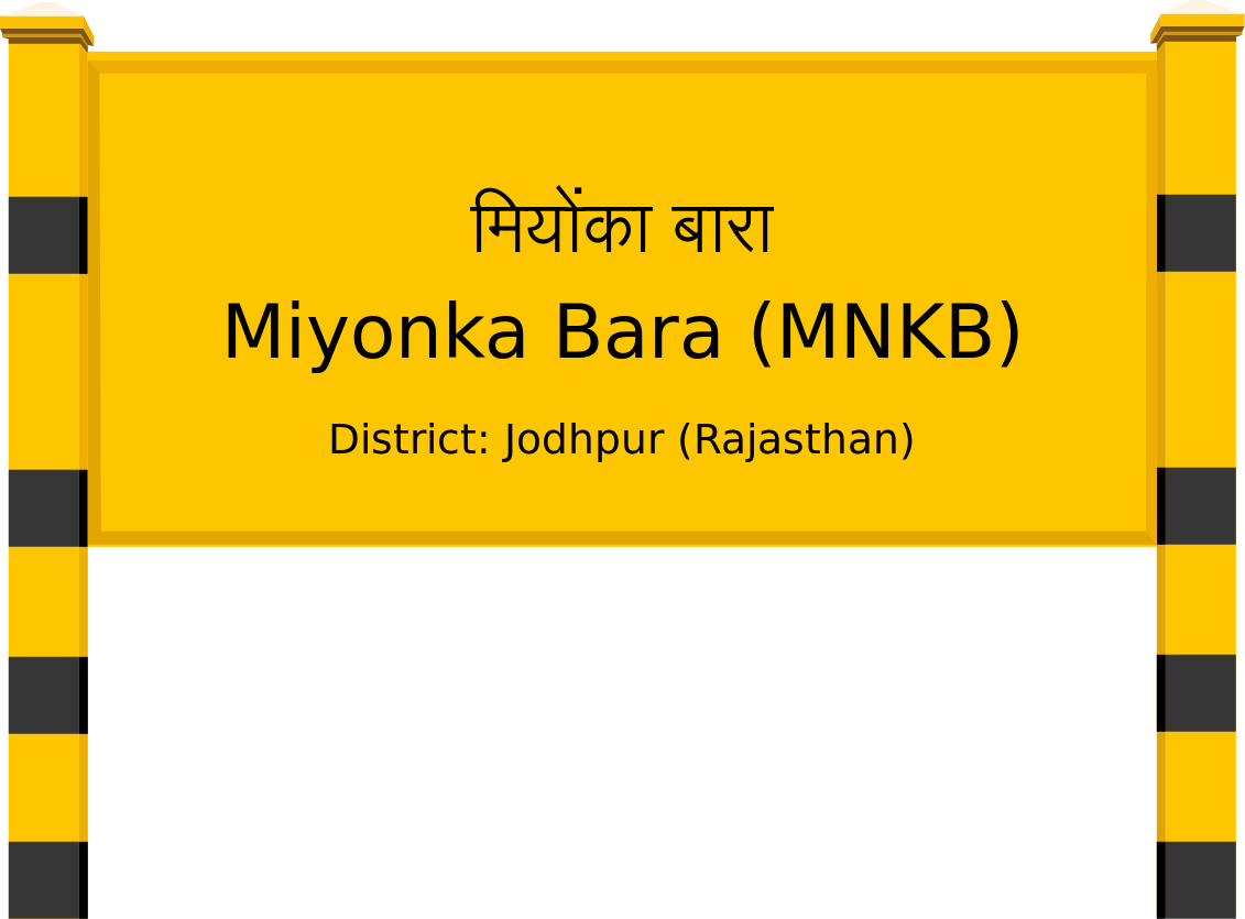 Miyonka Bara (MNKB) Railway Station