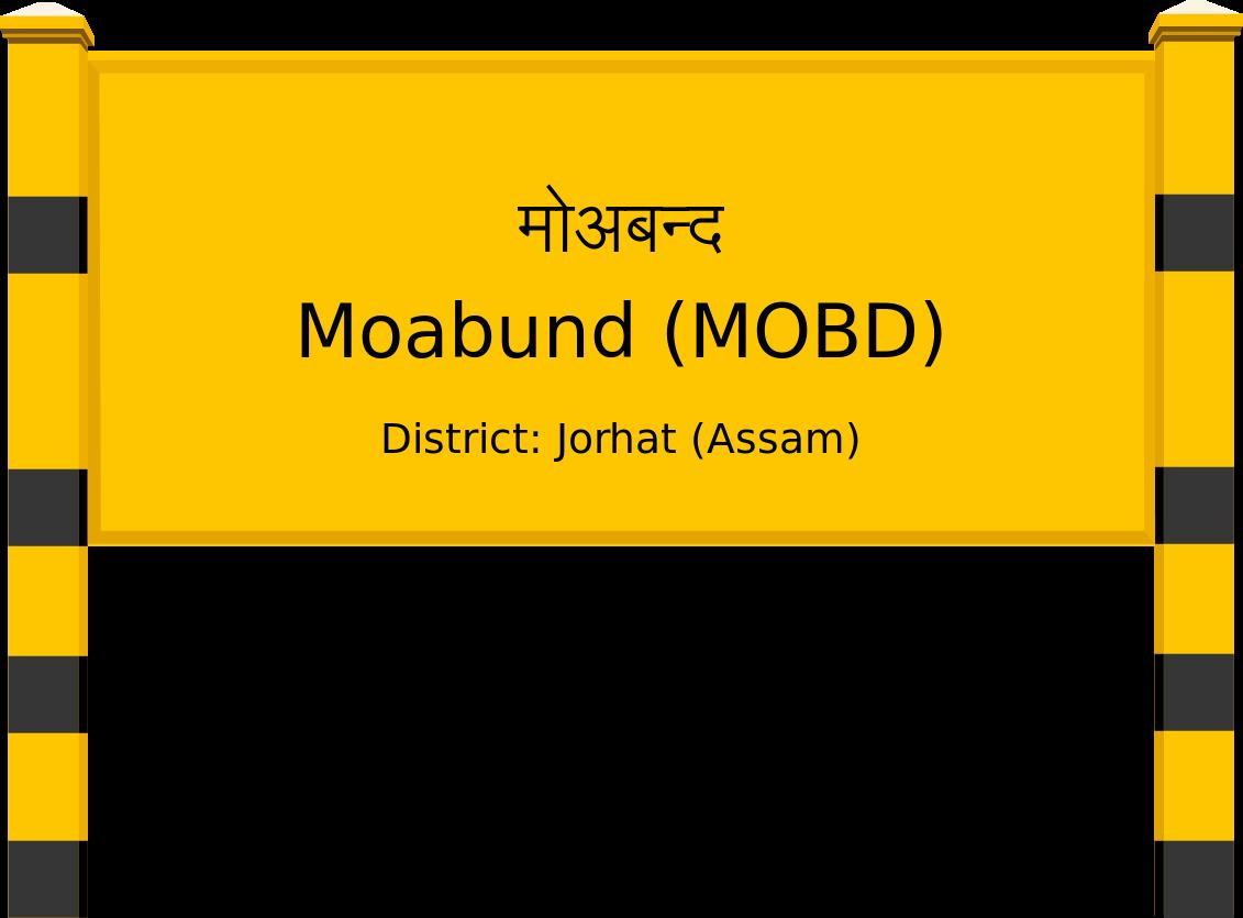 Moabund (MOBD) Railway Station