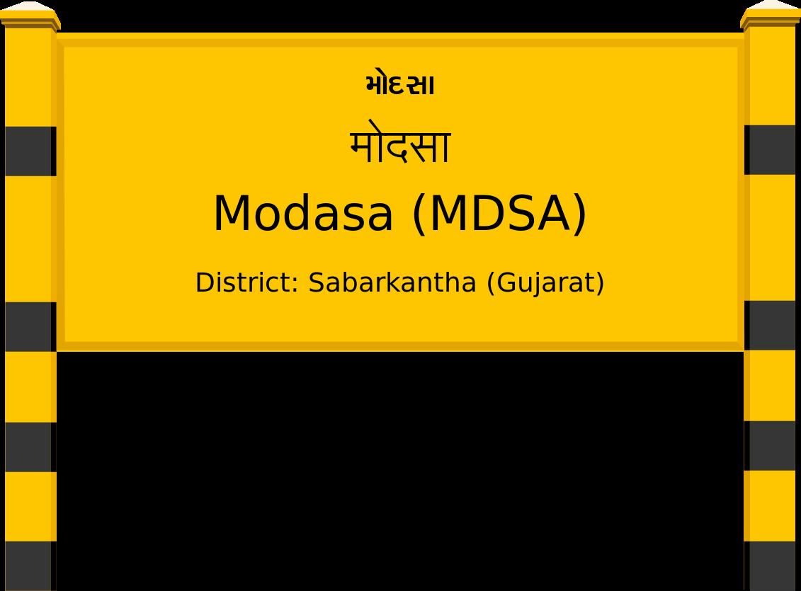 Modasa (MDSA) Railway Station