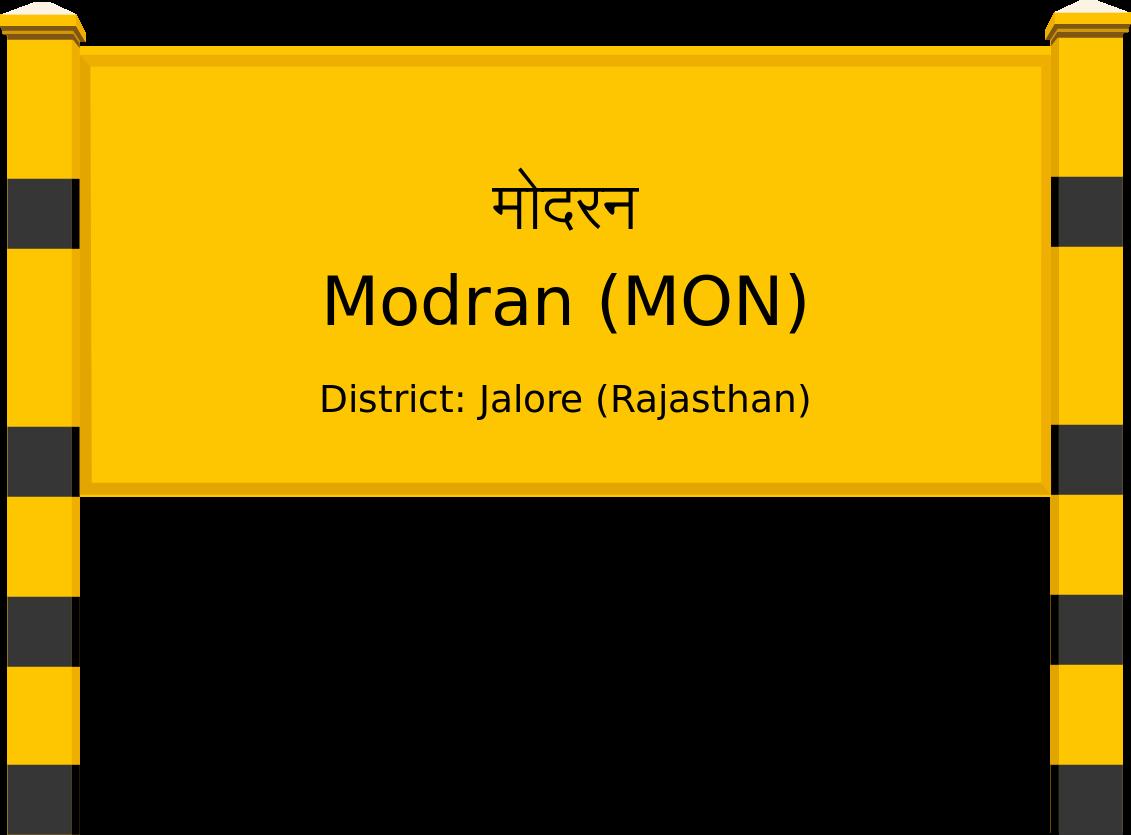 Modran (MON) Railway Station