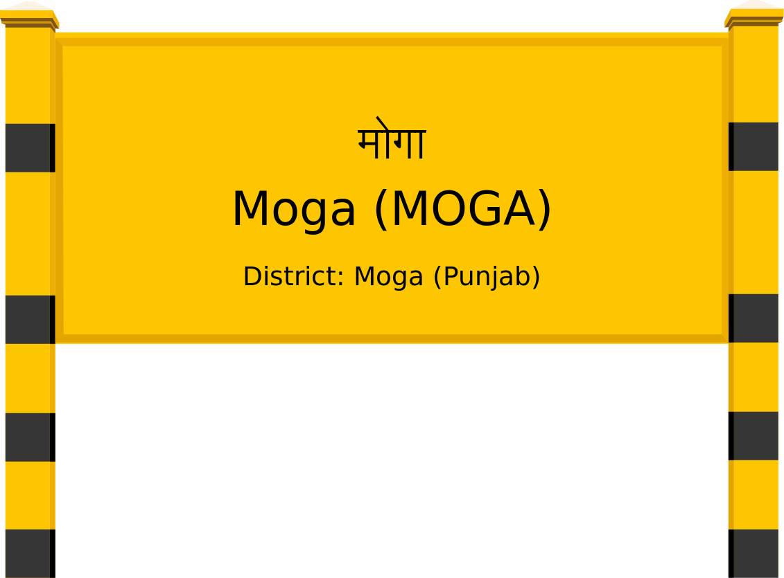 Moga (MOGA) Railway Station
