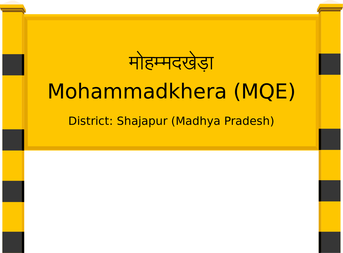 Mohammadkhera (MQE) Railway Station