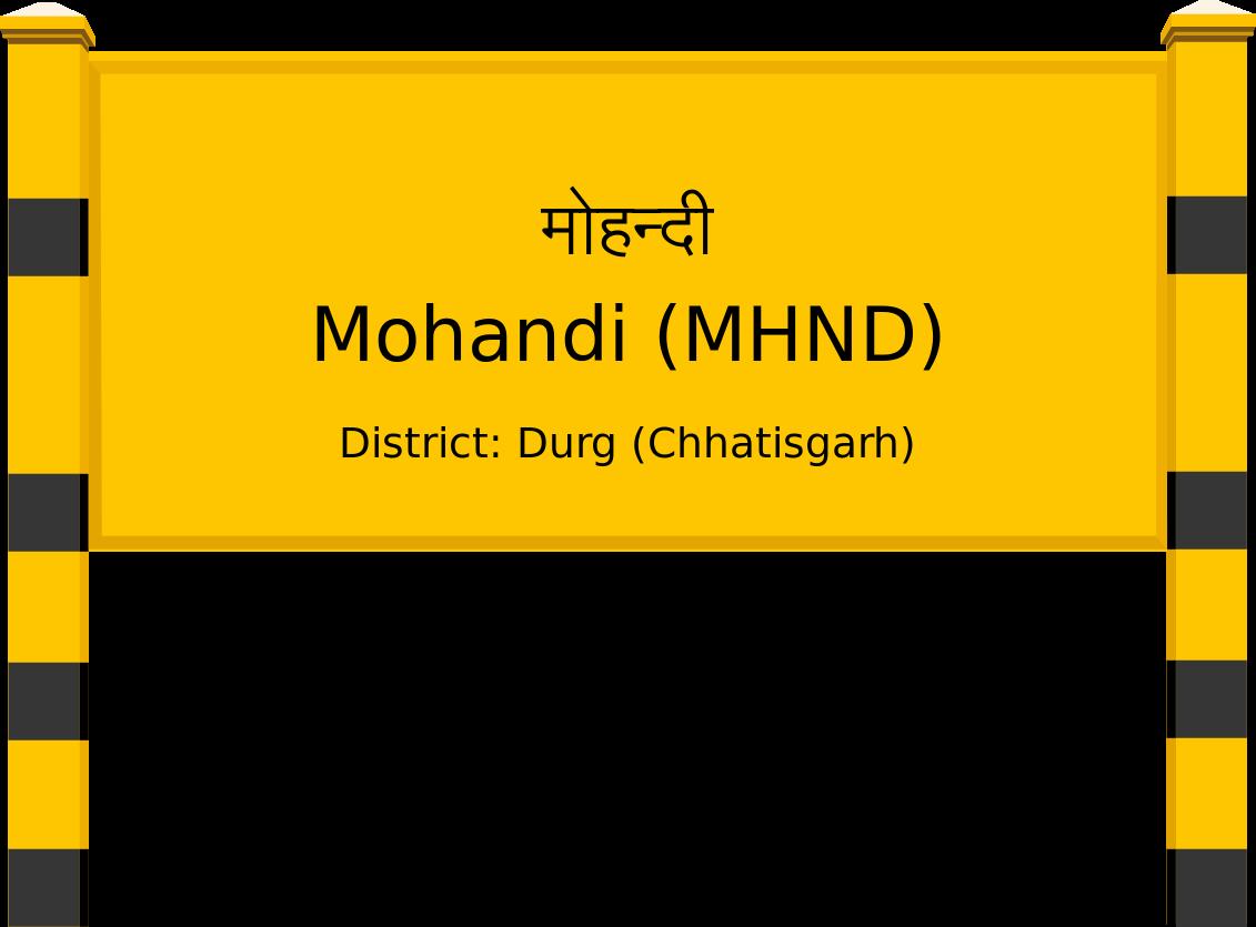 Mohandi (MHND) Railway Station