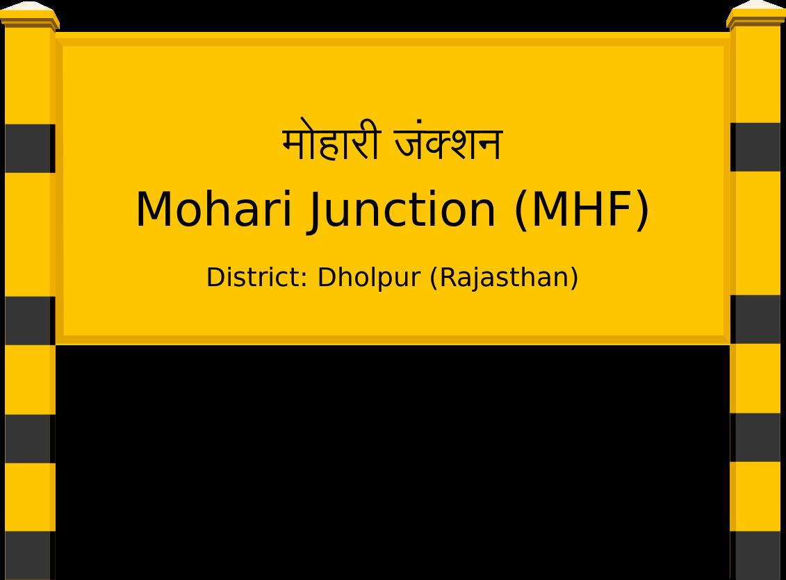 Mohari Junction (MHF) Railway Station