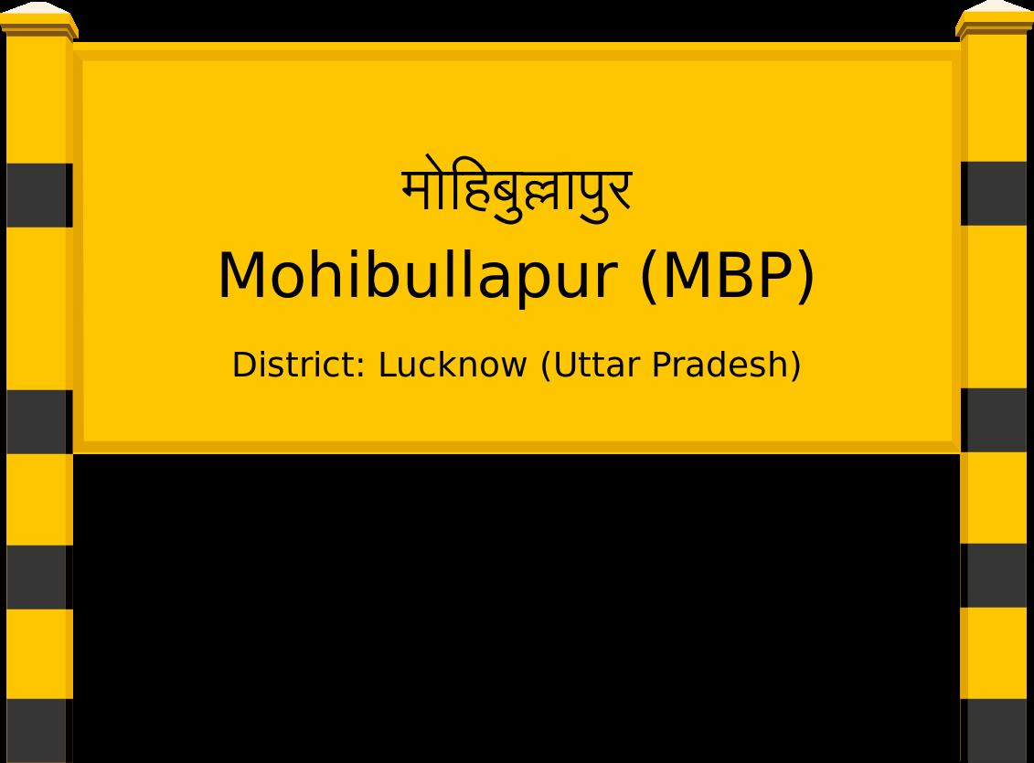 Mohibullapur (MBP) Railway Station