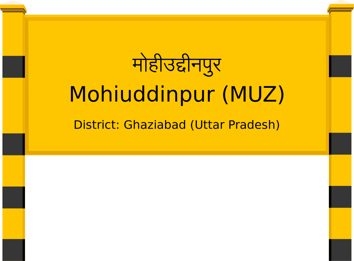 Mohiuddinpur (MUZ) Railway Station