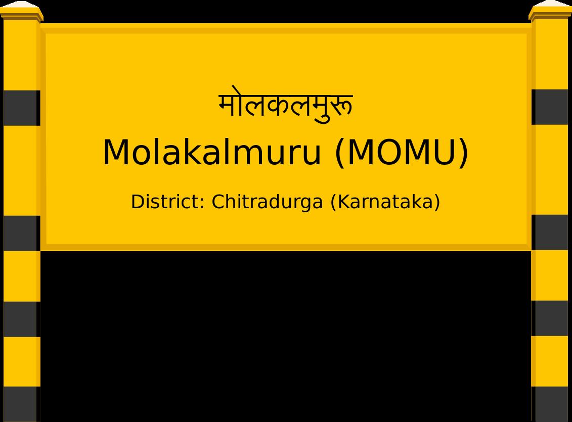 Molakalmuru (MOMU) Railway Station