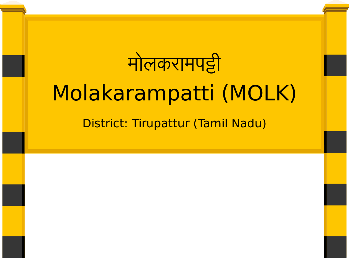 Molakarampatti (MOLK) Railway Station
