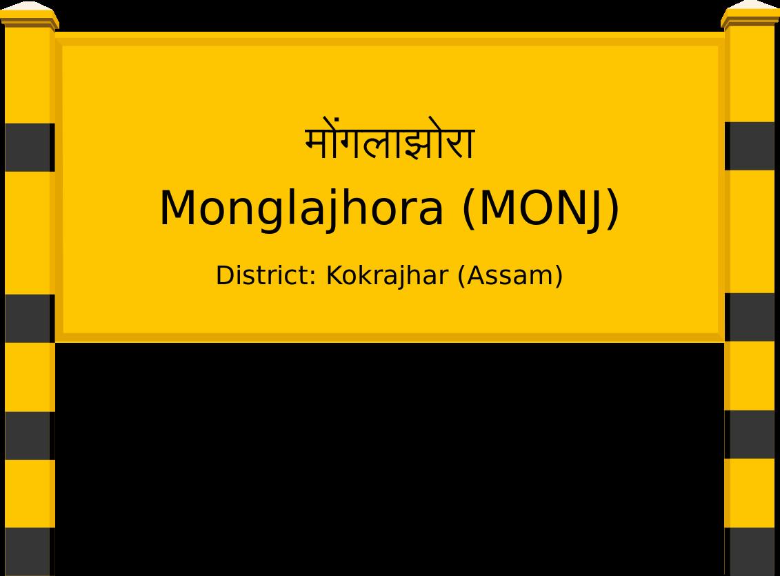 Monglajhora (MONJ) Railway Station
