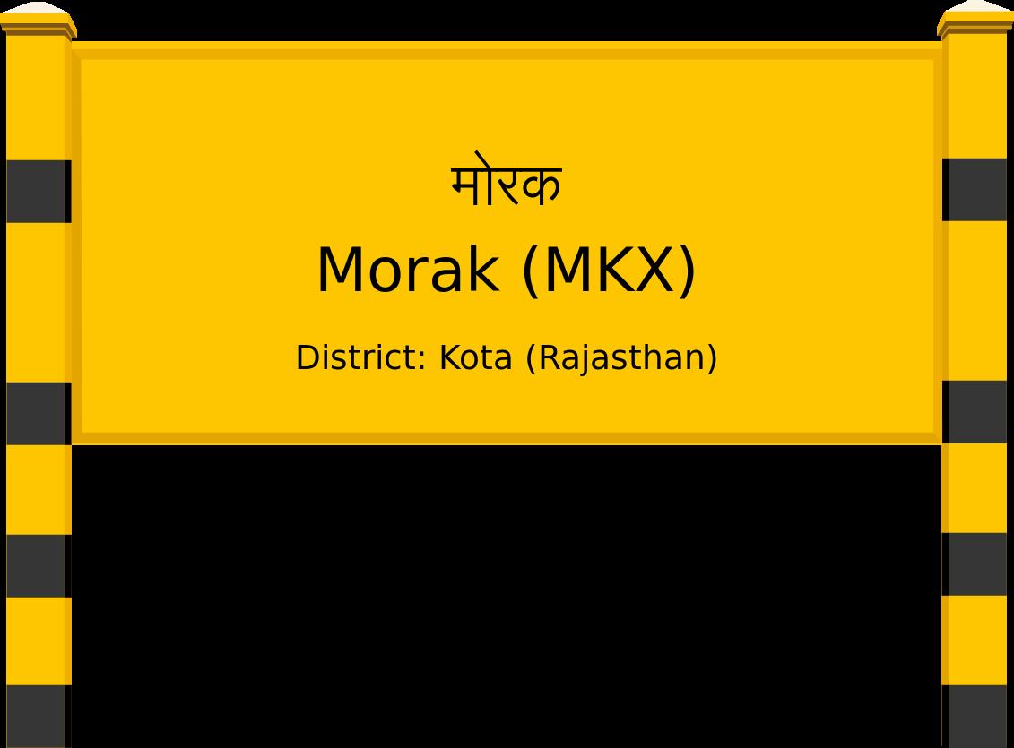 Morak (MKX) Railway Station