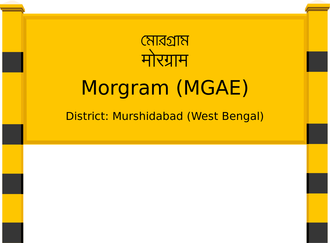 Morgram (MGAE) Railway Station