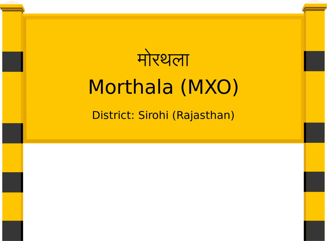 Morthala (MXO) Railway Station