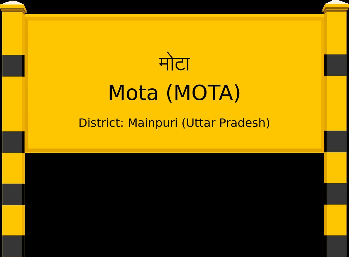 Mota (MOTA) Railway Station