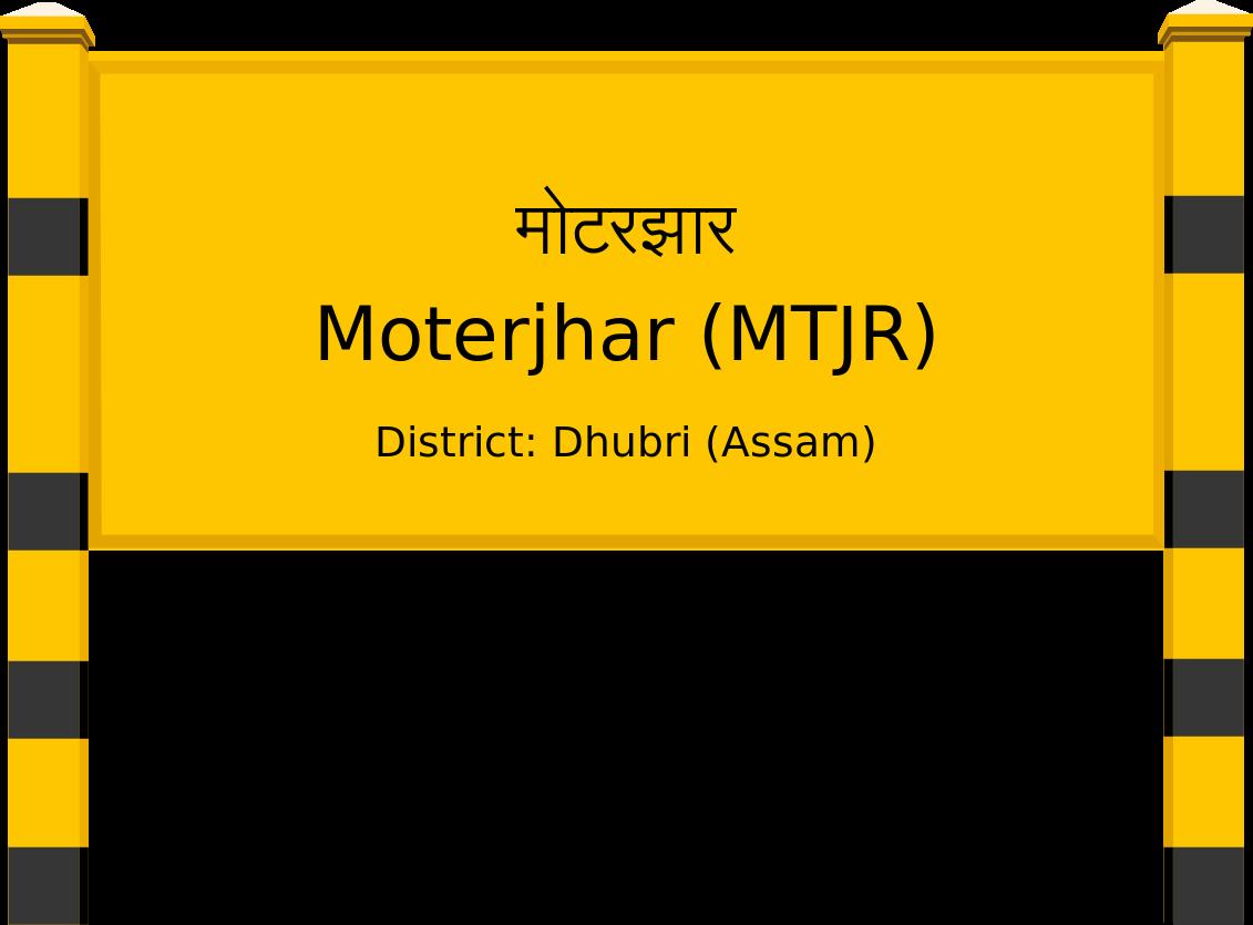 Moterjhar (MTJR) Railway Station