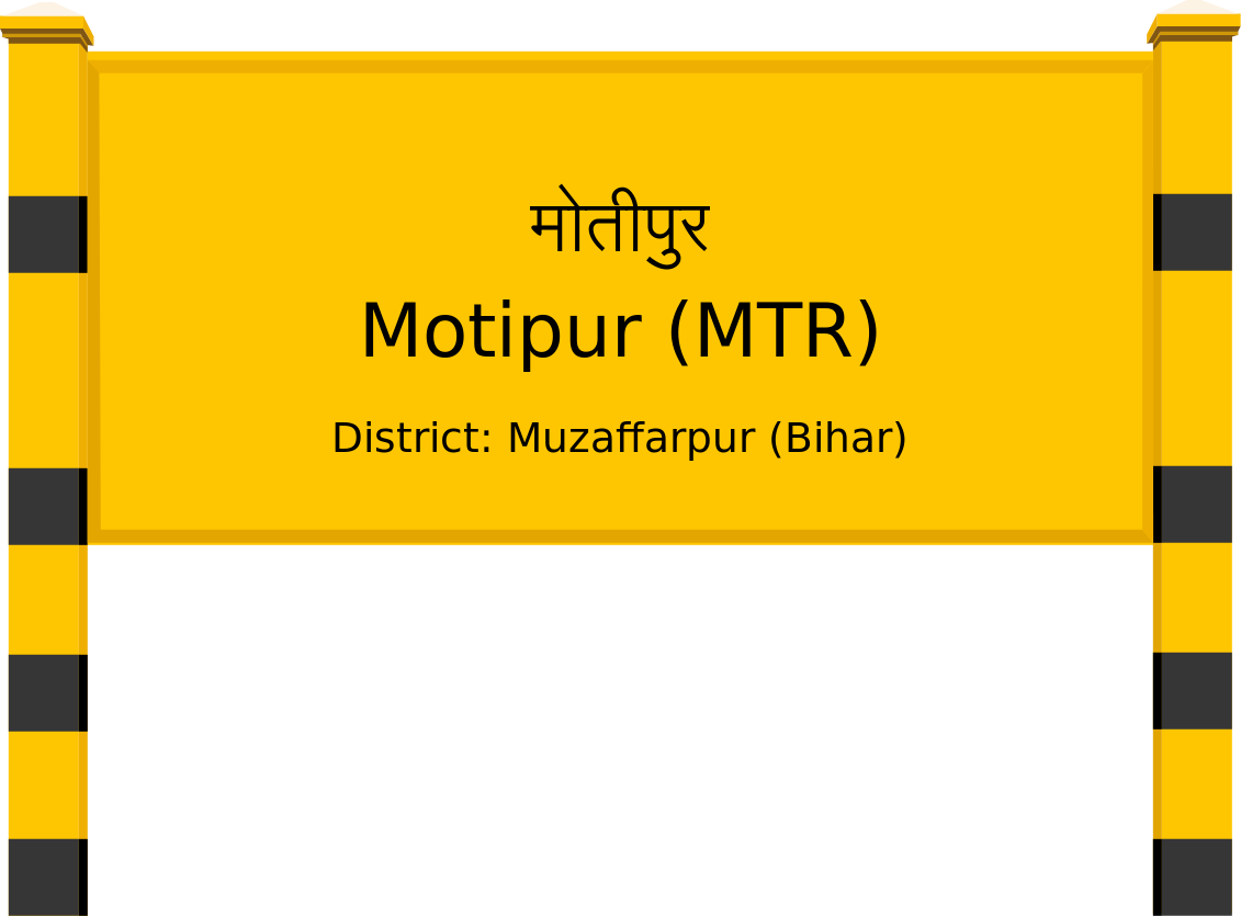Motipur (MTR) Railway Station