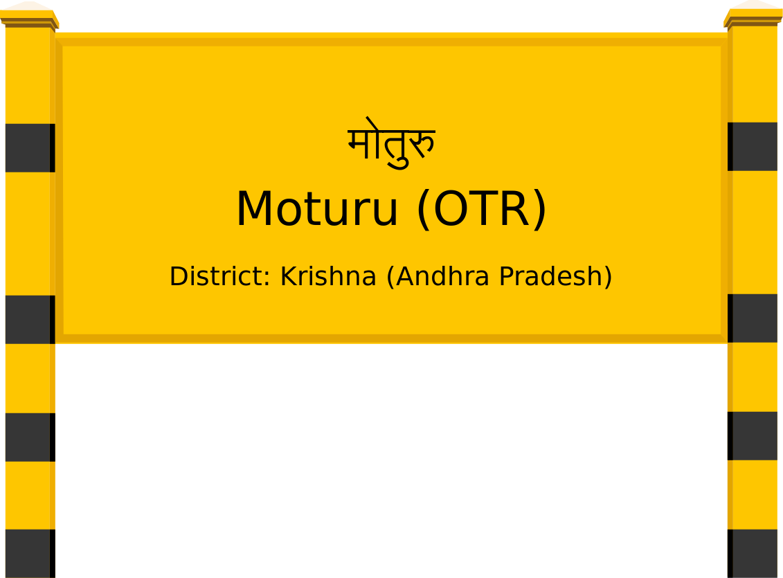 Moturu (OTR) Railway Station