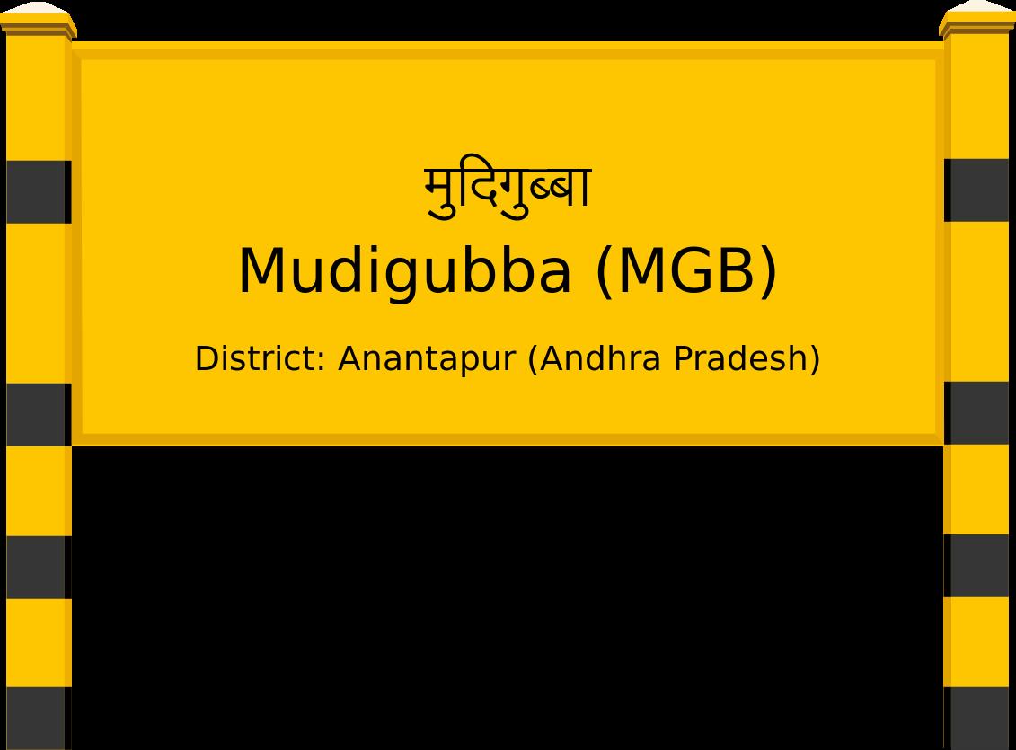 Mudigubba (MGB) Railway Station