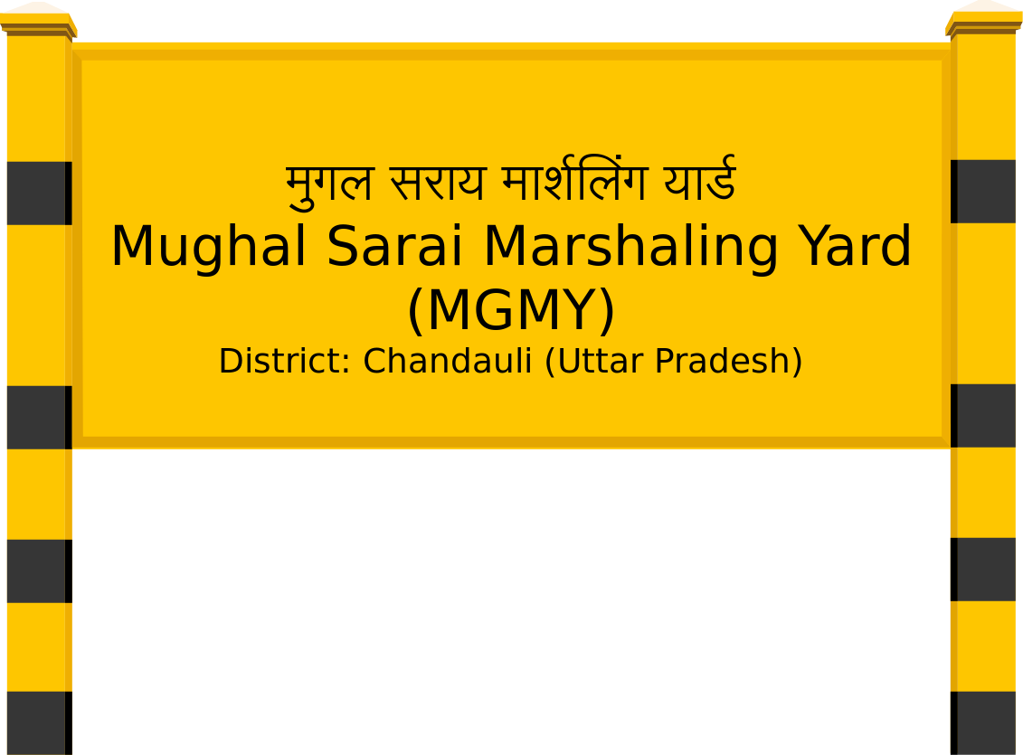 Mughal Sarai Marshaling Yard (MGMY) Railway Station