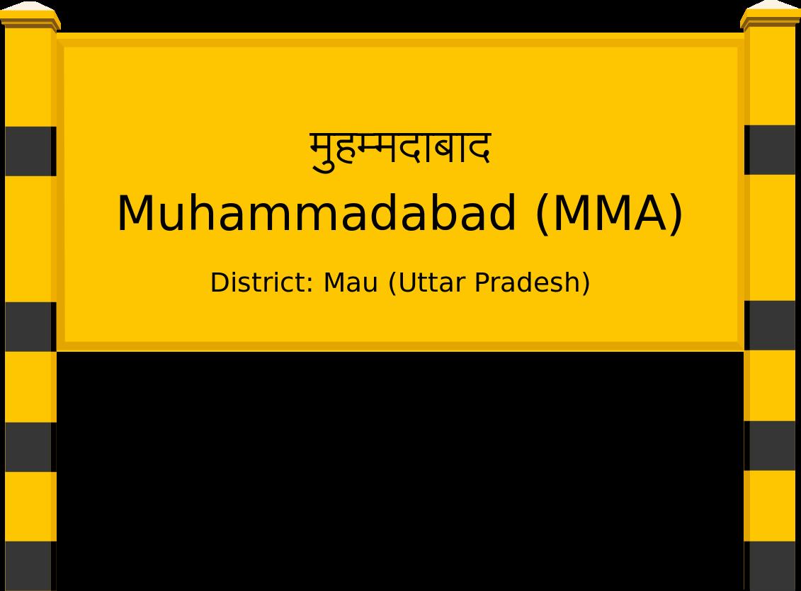 Muhammadabad (MMA) Railway Station
