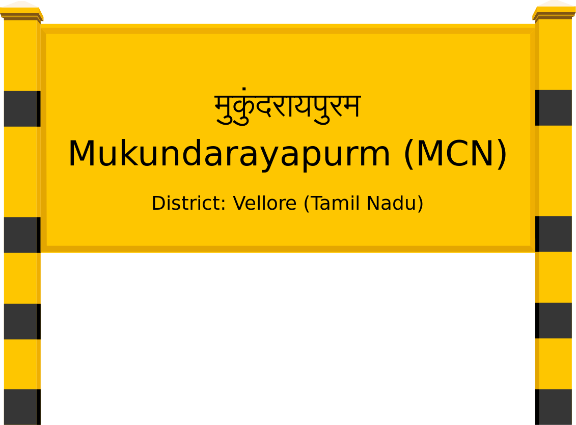Mukundarayapurm (MCN) Railway Station