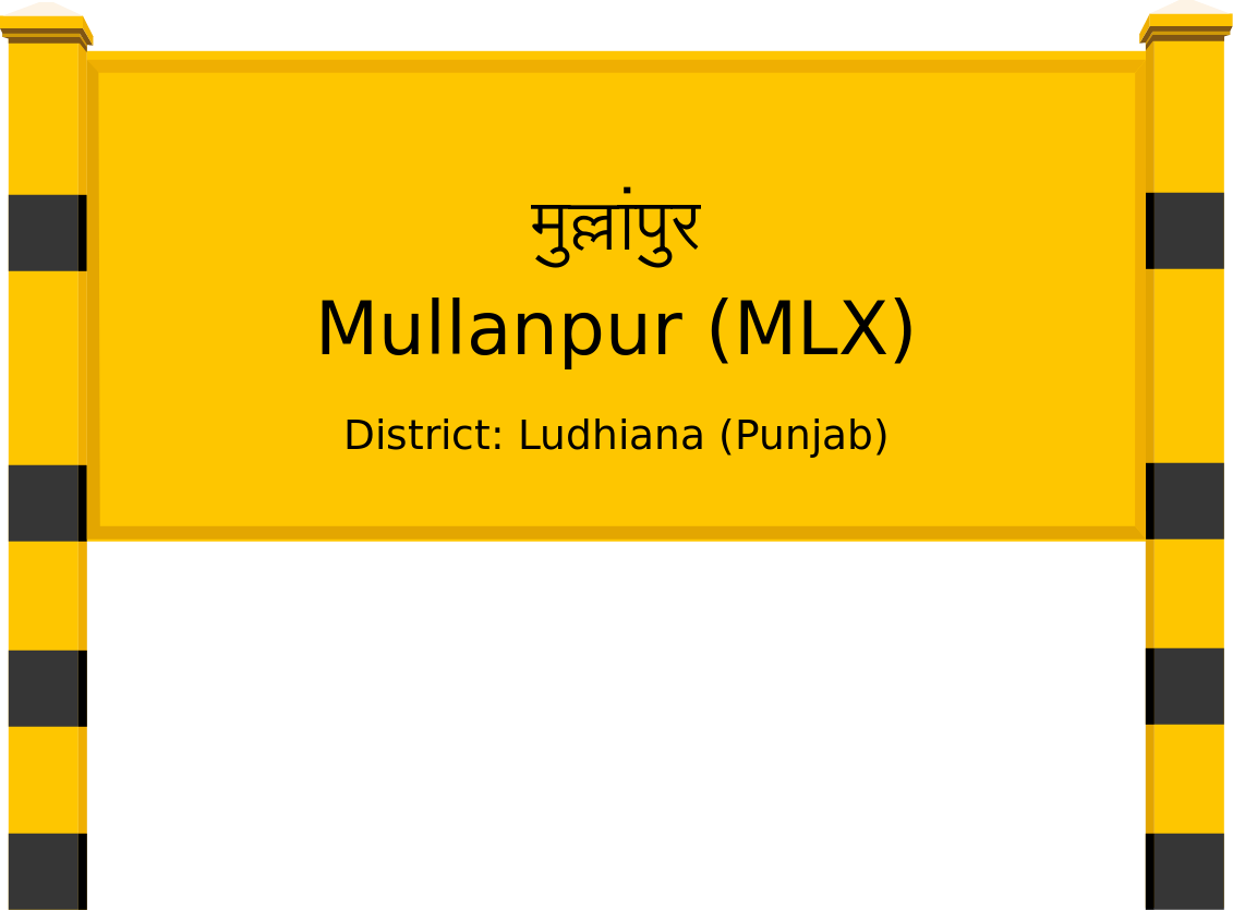 Mullanpur (MLX) Railway Station