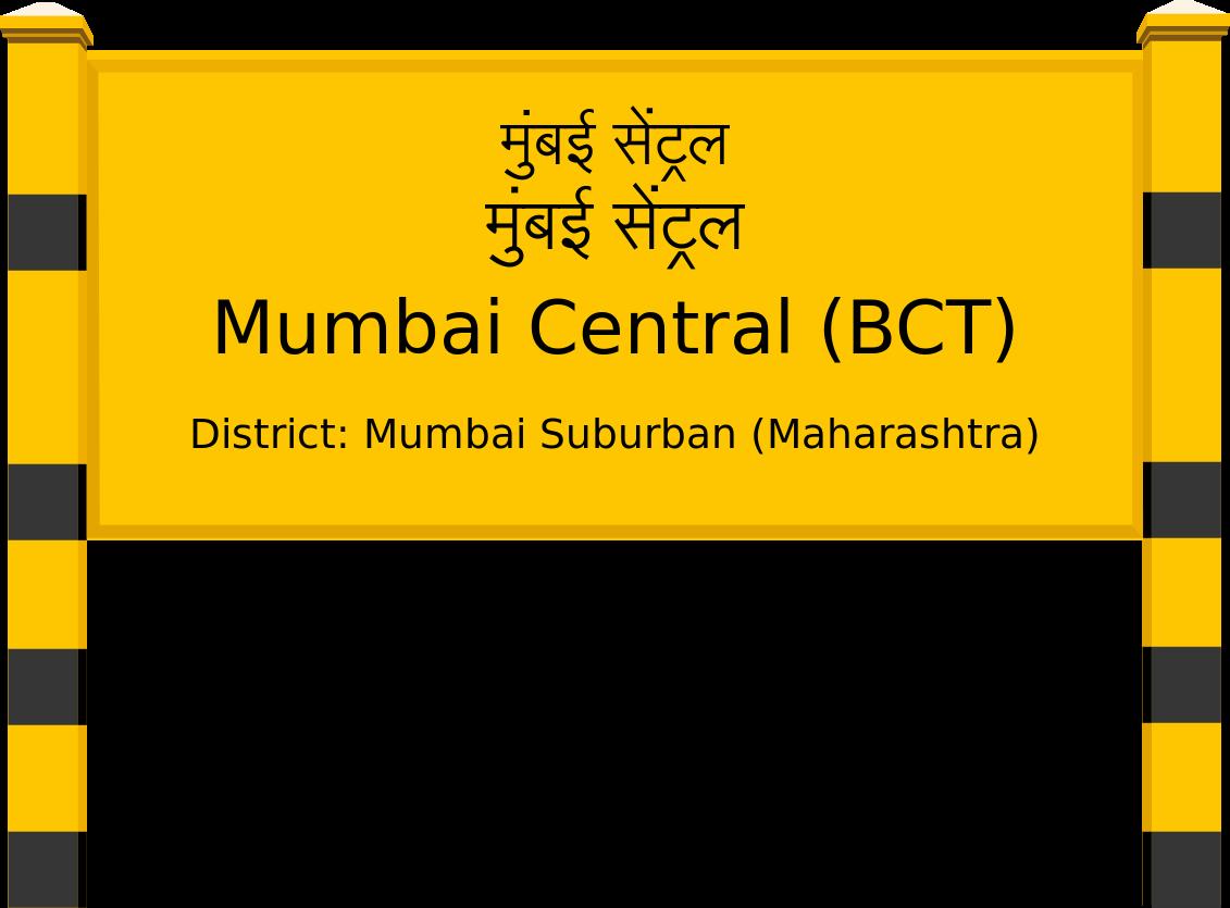 Mumbai Central (BCT) Railway Station