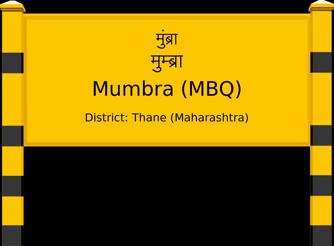 Mumbra (MBQ) Railway Station