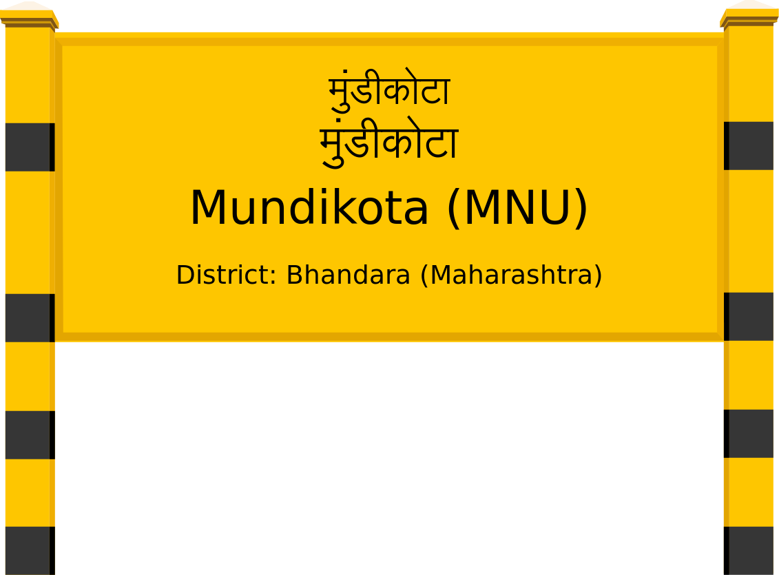Mundikota (MNU) Railway Station