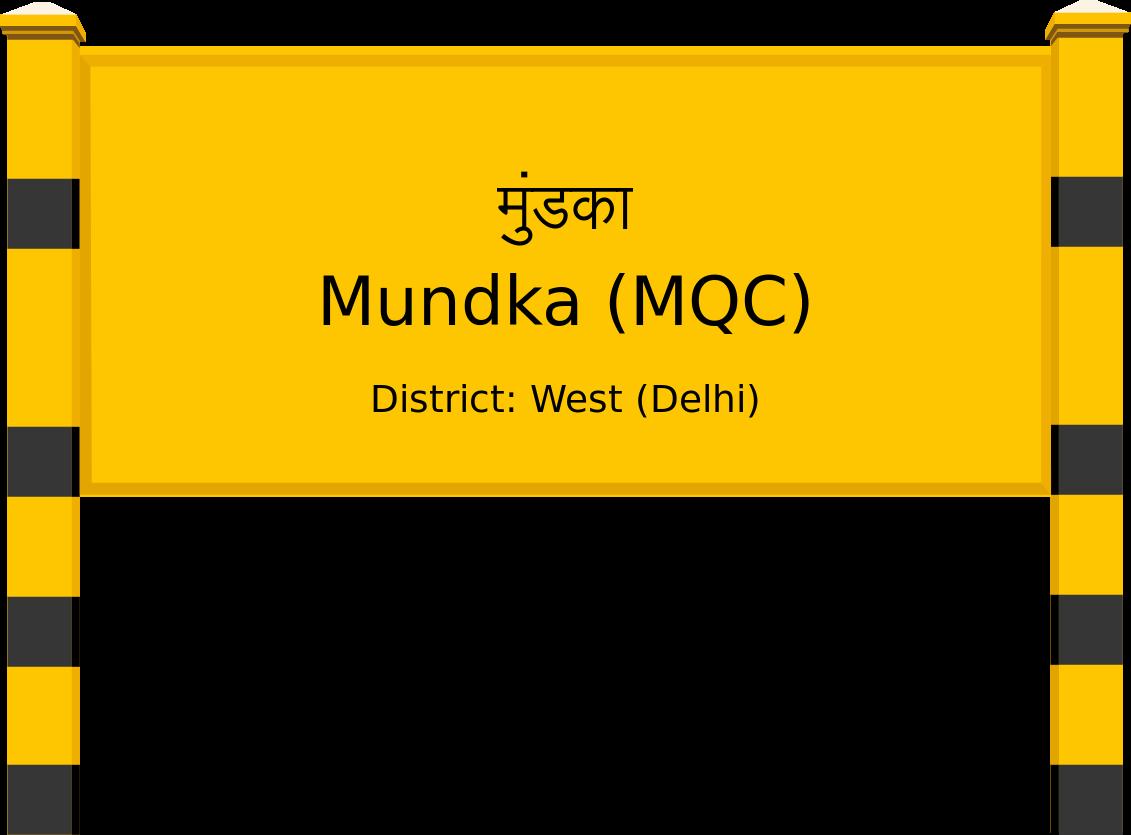 Mundka (MQC) Railway Station