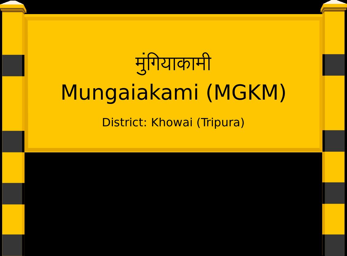 Mungaiakami (MGKM) Railway Station