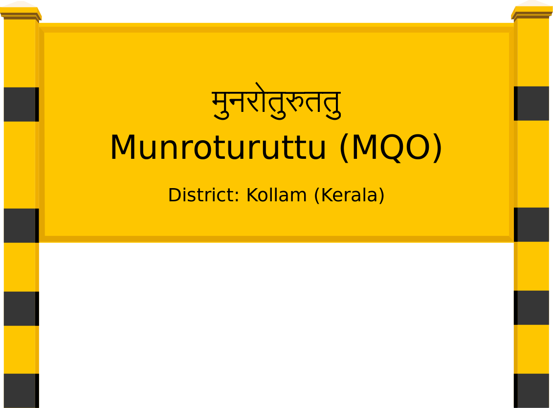 Munroturuttu (MQO) Railway Station