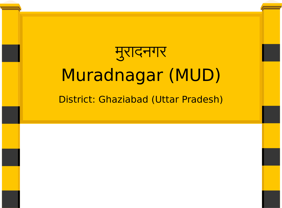 Muradnagar (MUD) Railway Station
