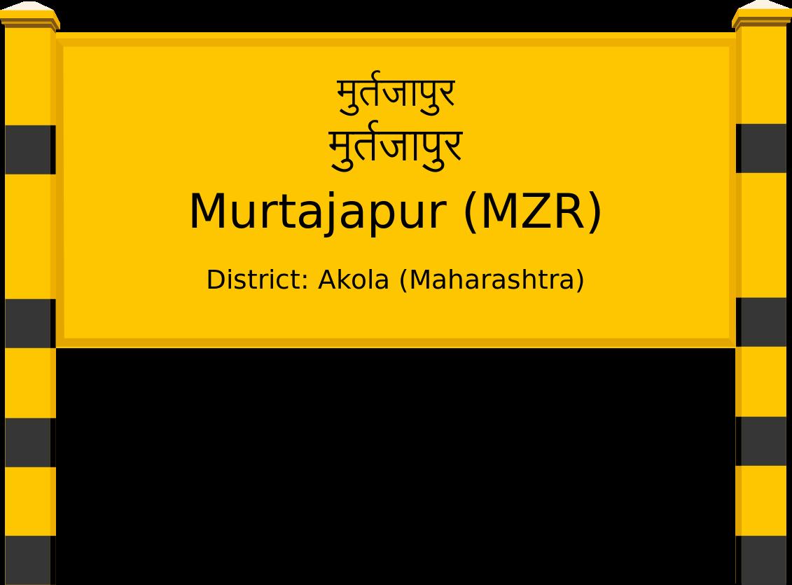 Murtajapur (MZR) Railway Station