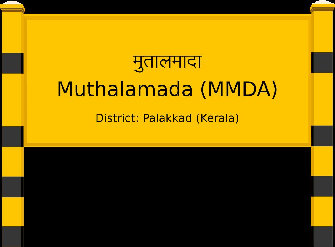 Muthalamada (MMDA) Railway Station