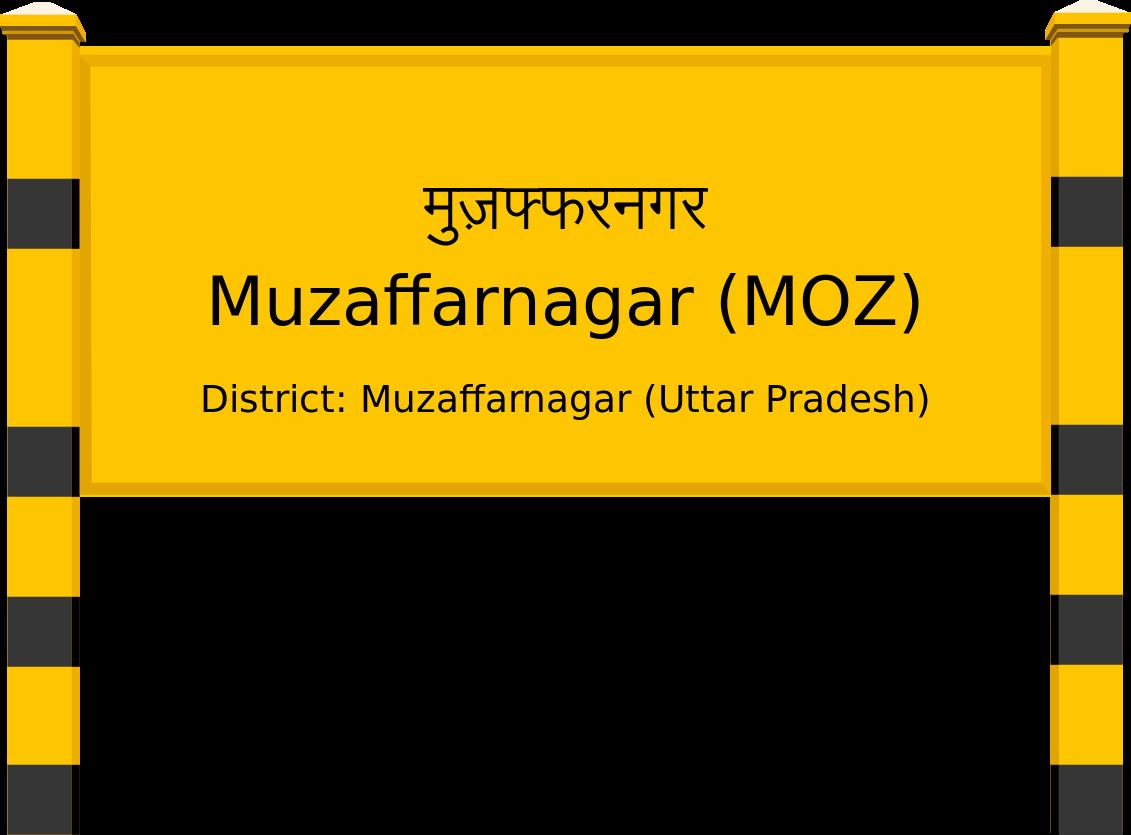 Muzaffarnagar (MOZ) Railway Station