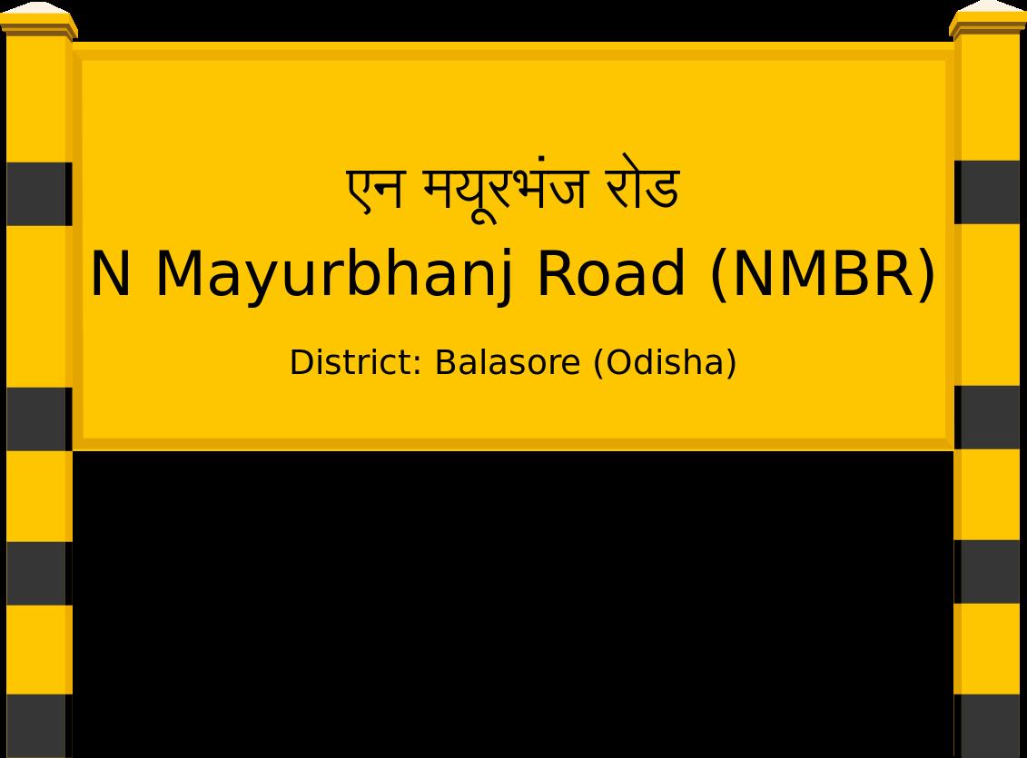 N Mayurbhanj Road (NMBR) Railway Station